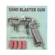 Smilšu strūklas pistole ar keram. uzgaļiem (4, 5, 6, 7 mm)