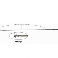 Instruments sīku daļu pacelšanai, 4-ķēpu (600mm)