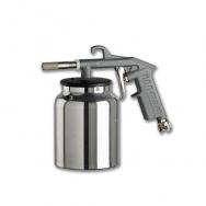 Smilšstrūklas pistole ar tvertni 1L (6-8 bar, 200-300L/min)