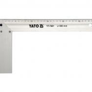 Stūrenis ar balstu, alumīnijs (300mm)