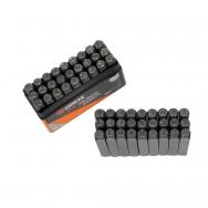 Burtu komplekts marķēšanai 6mm (27gab.)