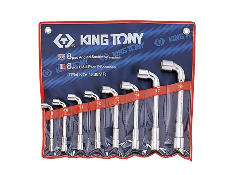 L-veida atslēgu komplekts KING TONY 8-19mm