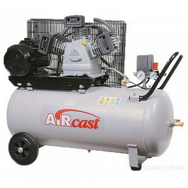Virzuļu kompresors 10Bar, 530l/min