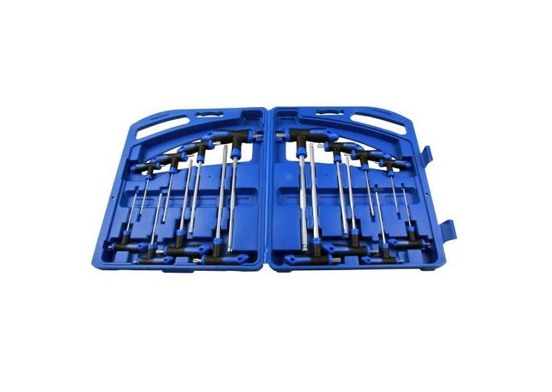 Atslēgu HEX/TORX komplekts (H2-10/T10-50)