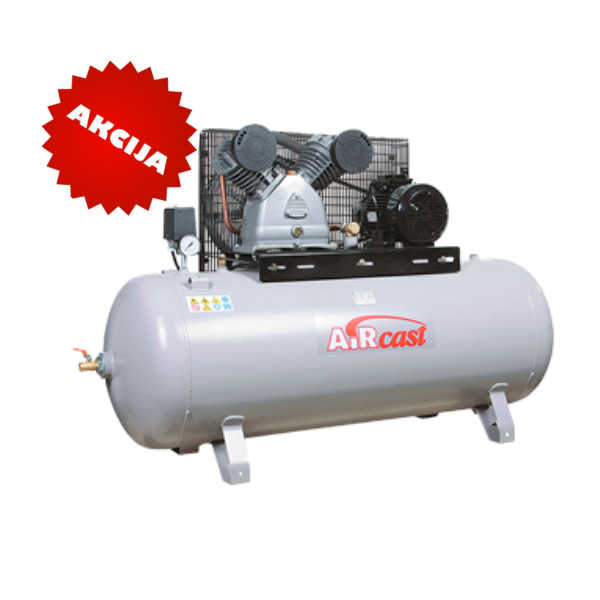 Virzuļu kompresors 10Bar, 690l/min