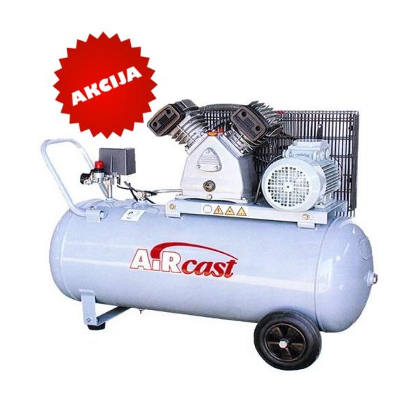 Virziļu kompresors 10Bar, 420l/min