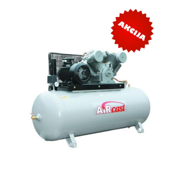 Virzuļu kompresors 10Bar, 1400l/min